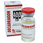 DecaDragon 400 - Decanoato de Nandrolona 400 mg x 10ml. Dragon Power