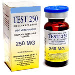 Test  250 Testosterona 10ml - Incrementa la fuerza y la masa muscular.